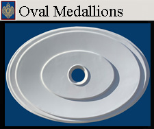 Imperial Oval Shaped Medallions
